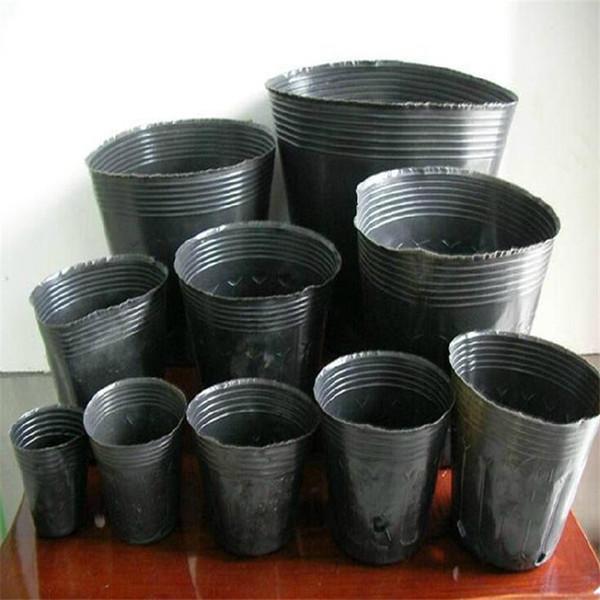 Free shipping 100pcs/lot,Nursery pot plastic nursery box garden container grow bag garden supplies