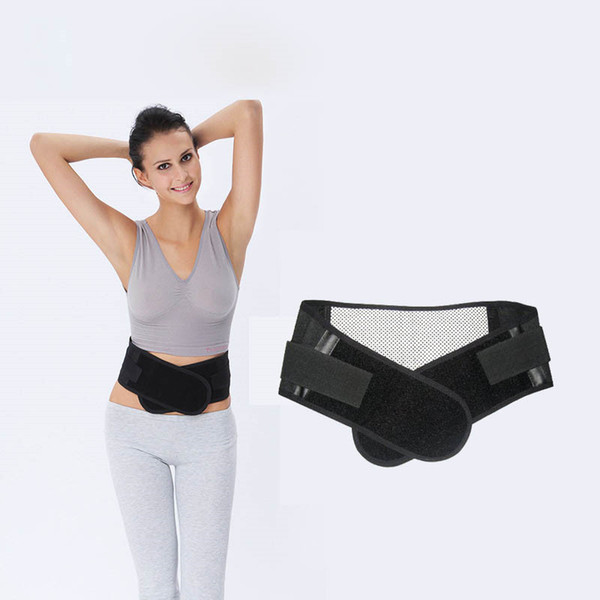 10Pcs/Lot Adjustable Tourmaline Self-heating Magnetic Therapy Waist Belt Lumbar Support Back Waist Support Brace Double Banded S-XL