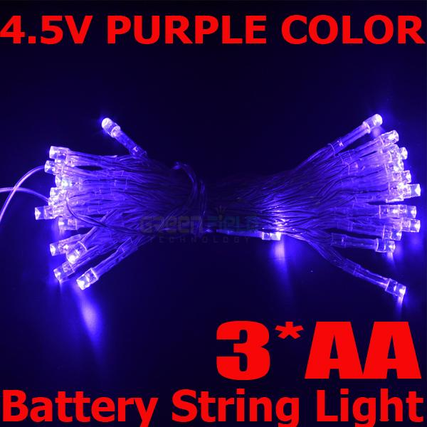 2015 China Hot sale 4m 40leds strings light for Christmas tree decoration with white red blue green pink color