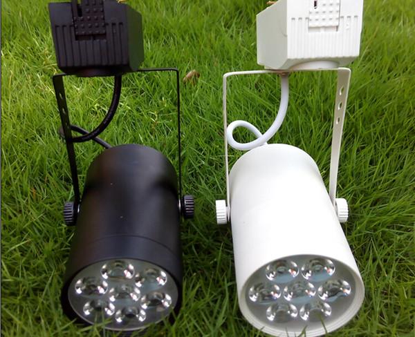 Faretti a soffitto a binario 220V 110V 7W LED bianco caldo bianco freddo per pubblicità commerciale Negozio di abbigliamento Decorazione illuminazione CE ROSH