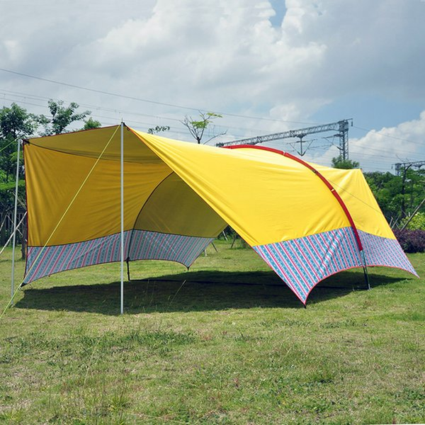 Gazebo Parasole Da Spiaggia.Acquista Wholesale 6x6m Sun Shelter Impermeabile Tenda Da Sole