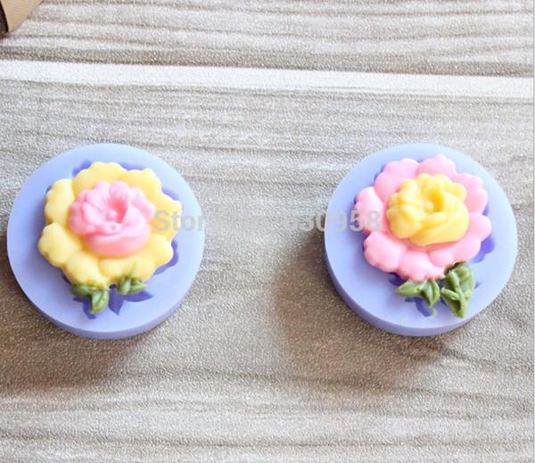 20 pcs/lot silicone flower cake fondant mold,cake decorating mould,cake decorative tools ,FDA,free shipping