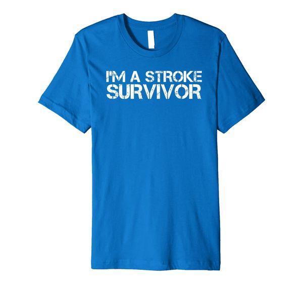 Stroke Survivor T-Shirt - Gift For Ischemic or Hemorrhagic