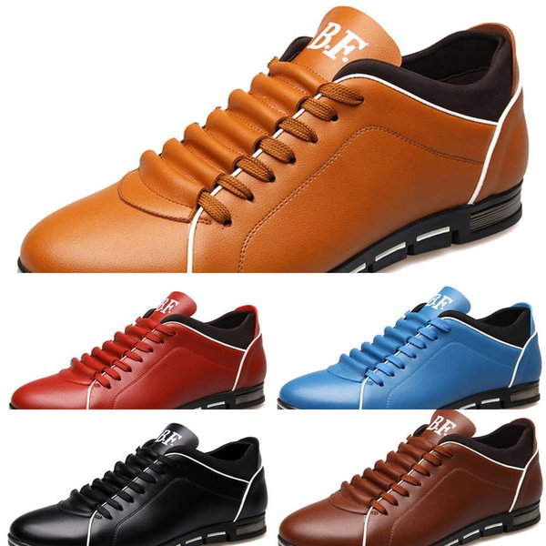 Casual shoes Four seasons sports casual men's shoes lace up breathable fashion low top single BZ9N KBZ4
