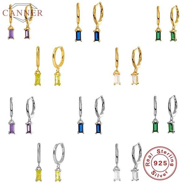 best selling Sterling Silver Hoop Earrings For Women French Bread Colourful Drop Earring Hoops Round Earings Jewelry Pendientes & Huggie