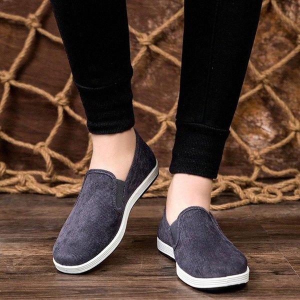 Summer Mens Flats Sneaker Trend Breathable Sneakers Non Slip Lightweight Shoes For Men Large Size Loafers Men Lazy Shoes Mens Loafers Buy Shoes C8lJ#