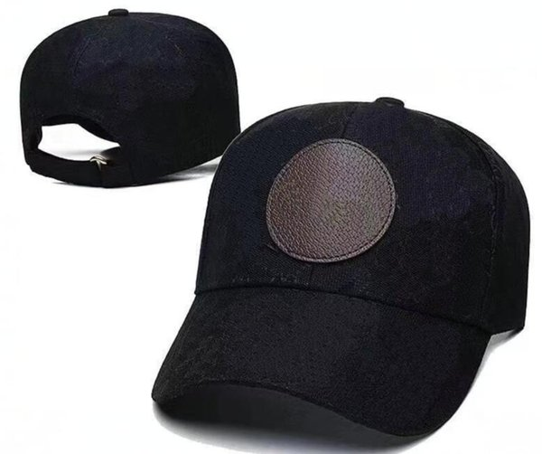 top popular Wholesale designer Black buckle hat women Mens Flat Caps Snap Backs good quality Hats 2021