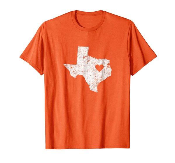 Texas Retro Vintage Home State Map Outline Shirt gift