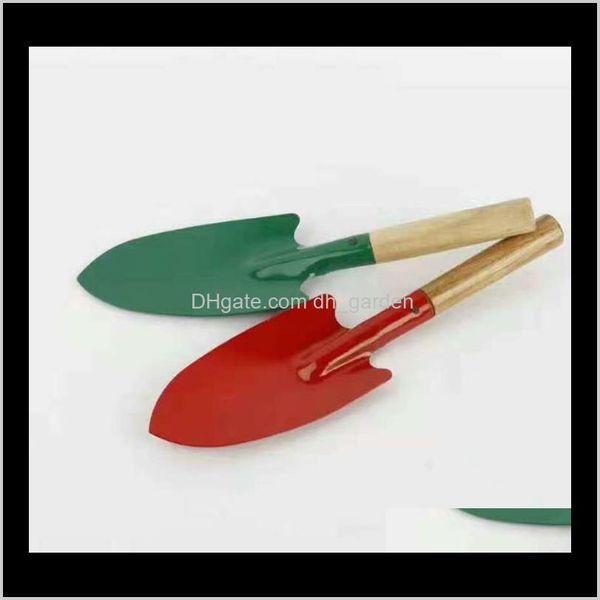 top popular Home & Drop Delivery 2021 Mini Gardening Colorful Metal Small Shovel Hardware Digging Garden Tools Kids Spade Tool Sn2340 D5Nhc 2021