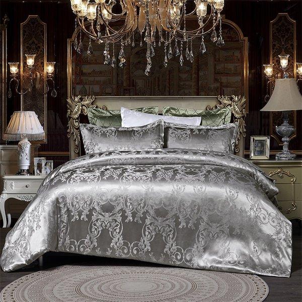 best selling Designer Bed Comforters Sets Luxury 3PCS Home Bedding Set Jacquard Duvet Bed Sheet Twin Single Queen King Size Bed Sets Bedclothes 473 V2