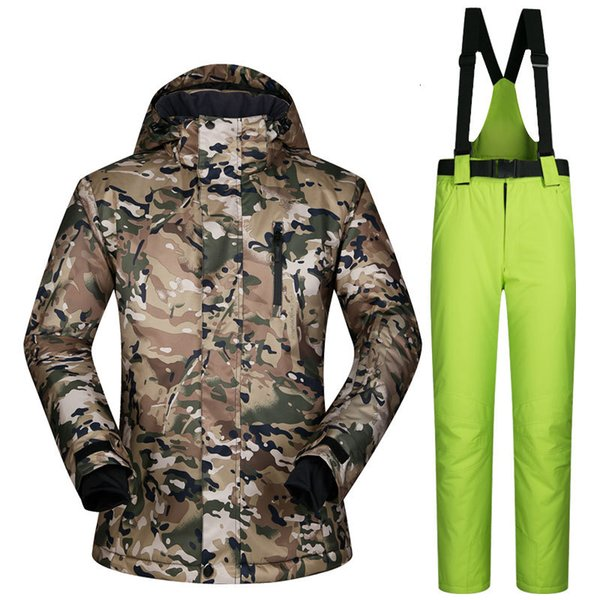 best selling High Quality Super Warm Clothing Skiing Snowboard Suit Male Jackets Pants Windproof Waterproof Breathable Winter Wear Men Ski Suit