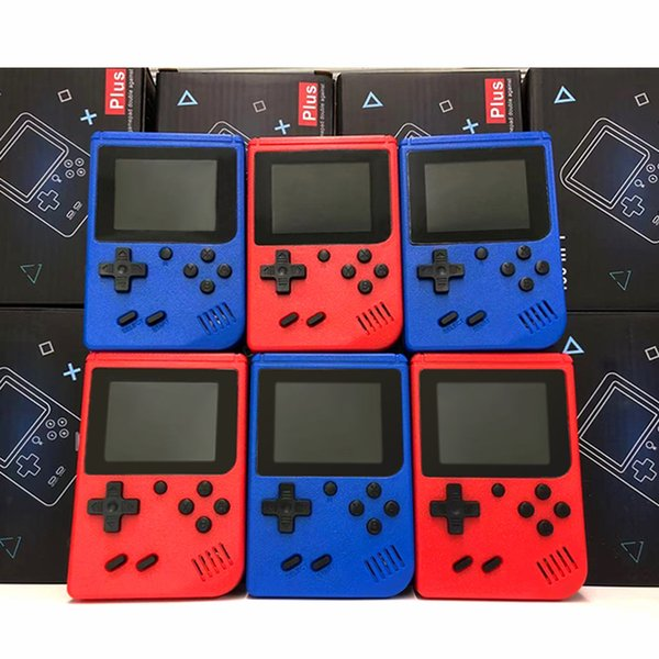 best selling 400 in 1 Portable Handheld video Game Console Retro 8 bit Mini Game Players AV Game player Color LCD Kids Gift