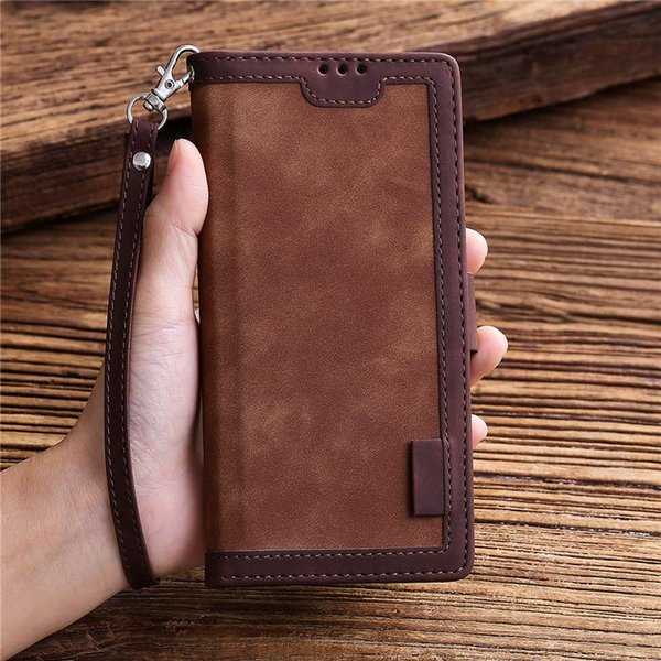 leather case for honor 8a prime 20 lite 8s flip book cover huawei p30 p40 pro y6 y7 y5 y6s 2021 holster cell phone cases