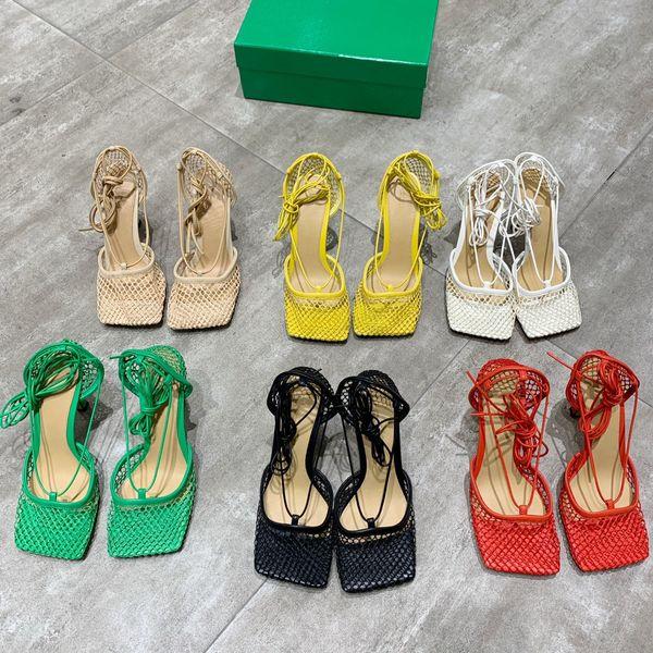 Calfskin Women Catwalk Kitten Heels Pumps Slingbacks Sandals Mules Flats Beige Grey Dress Single Shoes