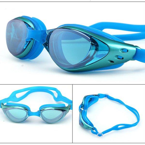 best selling Myopia goggles Swimming glasses -1.0-10 Waterproof Anti-Fog arena Prescription swim eyewear water Silicone Big diving Men Women