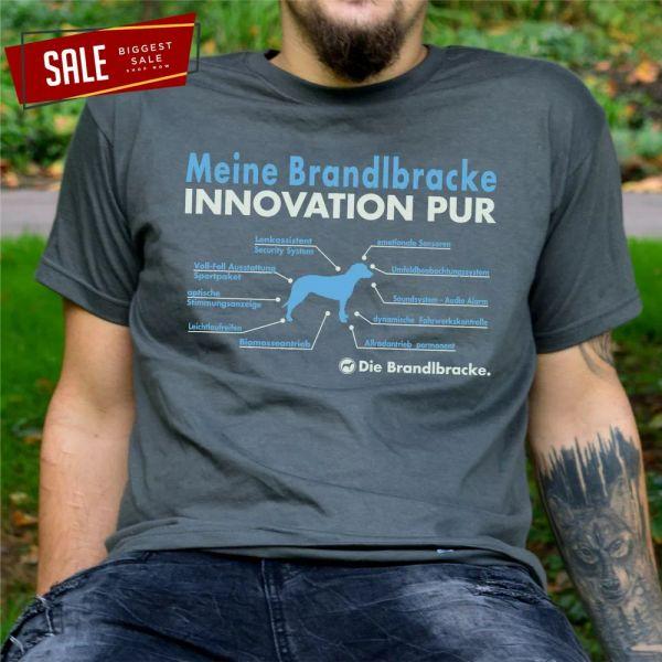 SALE brandlbracke Innovation Awards Unisex Funny T-Shirt L Parts List Bracken