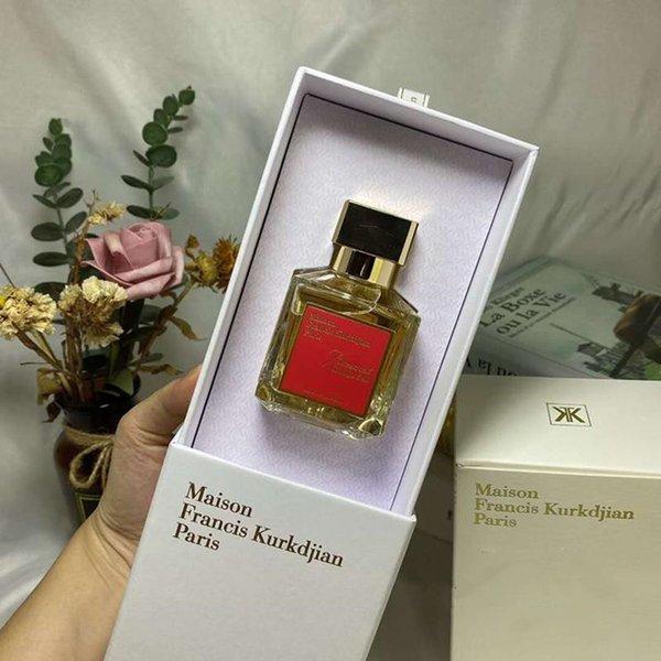 best selling Fragrance Maison Francis Kurkdjian Baccarat Rouge 540 Extrait de Parfum Neutral Oriental Floral perfume 70ML EDP Top Quality High-Performance