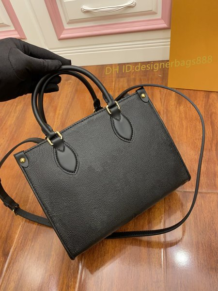 top popular FASHION ONTHEGO M45653 M44576 WOMEN luxurys designers bags genuine leather Handbags messenger crossbody shoulder bag Totes Wallet 2021