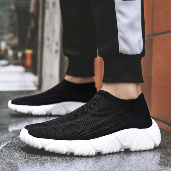 Casual shoes MOHJ 21 new large size couple's air permeable shoes outdoor casual men's and women's socks fashion versatile light sports QLRX