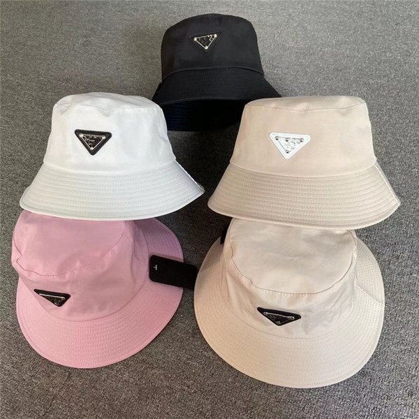 best selling Bucket Hat Cap Fashion Men Stingy Brim Hats Man Women Designers Unisex Sunhat Fisherman Caps Embroidery Badges Breathable Casual Highly Quality