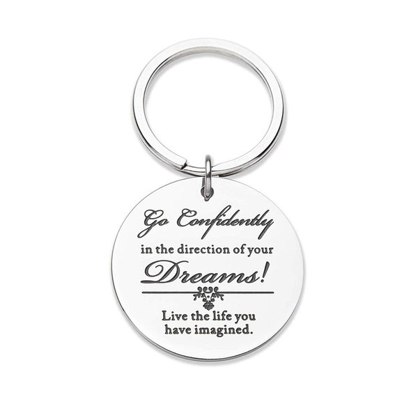 10Pieces/Lot Graduation Gifts for Him Her Daughter Son Keychain Birthday Gifts for Men Women Boys Nurse Boys Dreams Gifts for Teen Boys Gir
