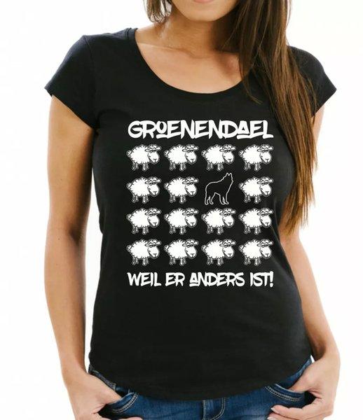 Lover Ladies T-Shirt Black Sheep Women Dog Dogs Fashion