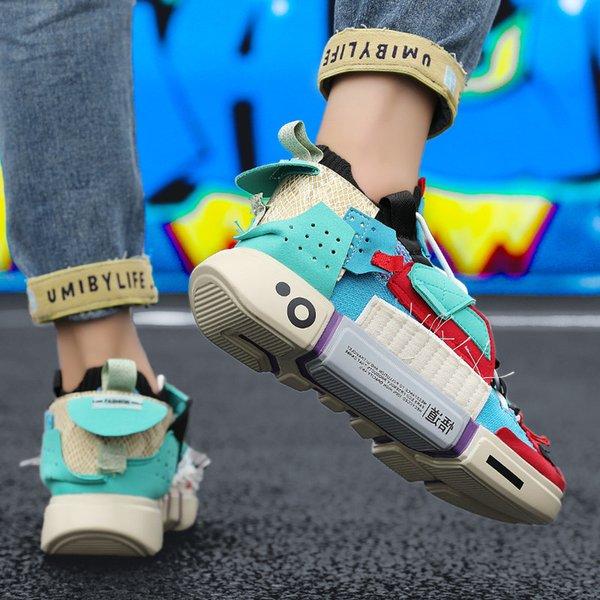 Outdoor Men Trainer Sneakers White Comfort Men Casual Sneakers Fashion Luxury Plaform Shoes Men Designer Shoes Deportivas Hombre