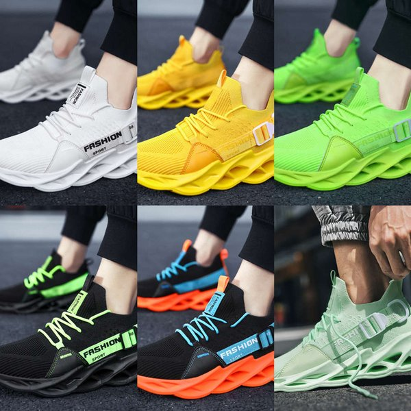 Casual shoes Large size men's shoes summer sports flying mesh face blade fashion casual breathable Casual NYNB 9UZX