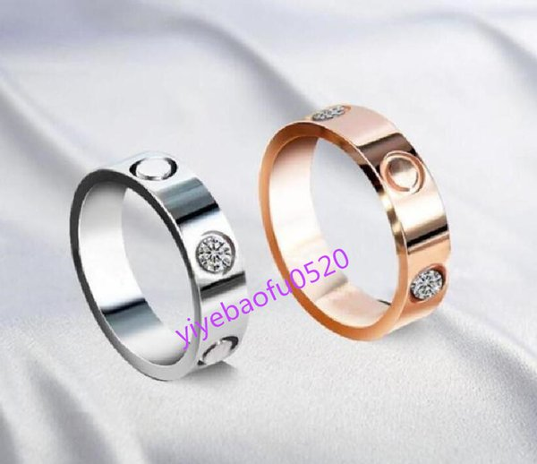 top popular love screw ring designer rings classic luxury jewelry women gold Titanium steel Gold-plated Never fade Not allergic ZZ 2021
