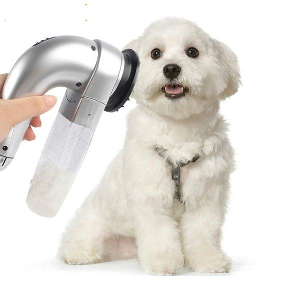 Pet Cat Hair Vacuum Removal Fur Suction Grooming Device Pets Dog Accessories Cordless Portable Pets Massage Vacuum Cleaner