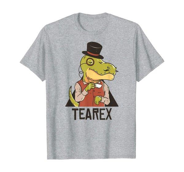 Cup of Tea Rex Funny Tyrannosaurus T-Rex Dinosaur Gift Idea T-Shirt