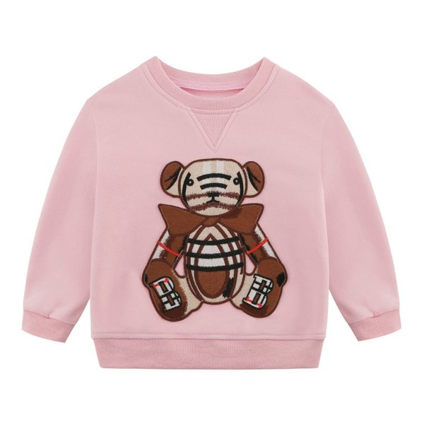 best selling Kids Sweatshirts Boys Girls Fashion Hoodies Letter Printed Long Sleeve Pullover Tops Children Casual Loose Sweatshirt Baby Clothing