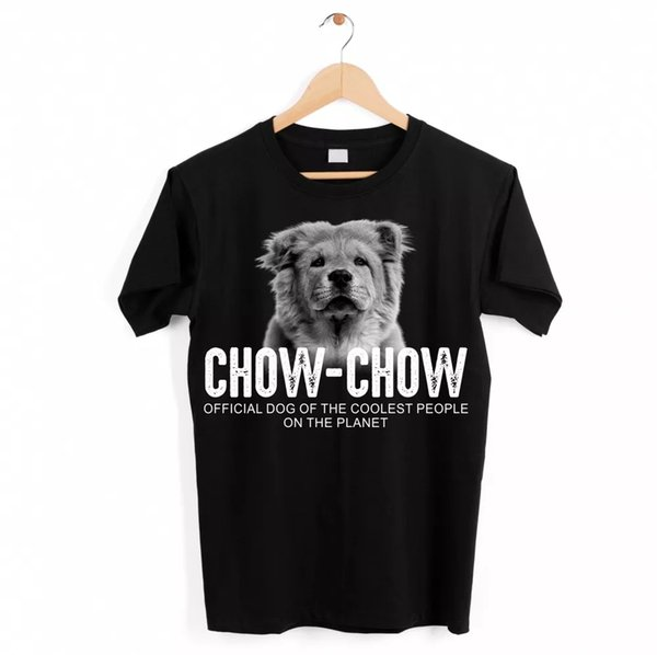 Chow Chow Dog Unisex Shirt Official Dog Cool People Funny Dog Motif T-Shirt