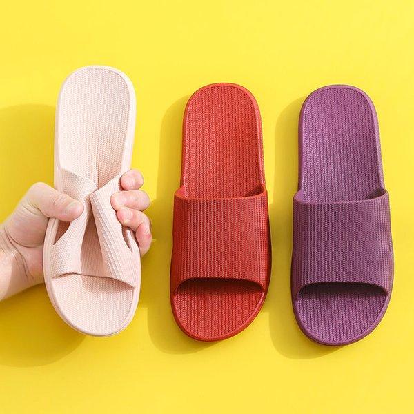 Summer women Indoor Slippers Floor Flat Shoes Indoor Flip Flops Woman Non-slip Bathroom Home Slippers shower slippers