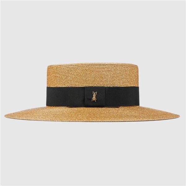 Womens Wide Brim Hats Fashion Women Straw Hat Summer Garden Styles Designers Caps Hats Women Gorro Fitted Bucket Hat