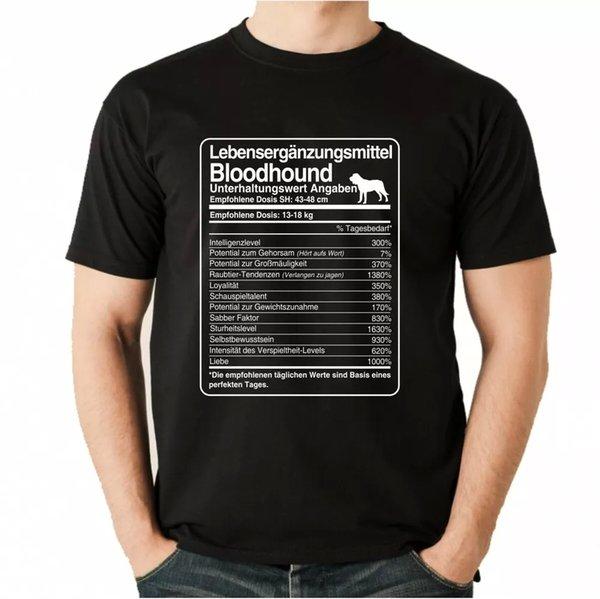 T-Shirt Unisex dose Bloodhound Life Supplements Men Dog Dogs