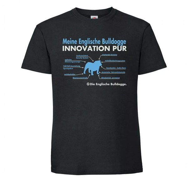 English Bulldog Unisex T-Shirt innovation Dog Motif Bully English Bulldog