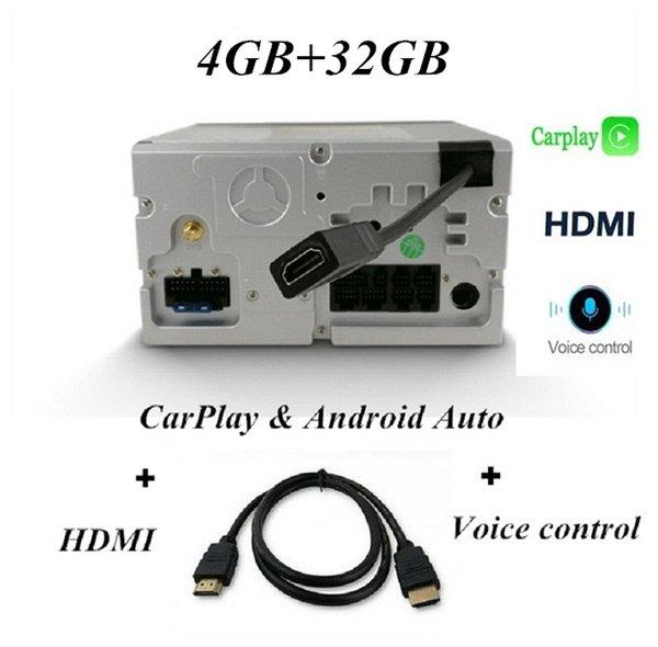 Carplay Voice Control HDMI와 32GB