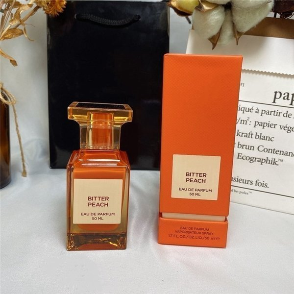 top popular Factory direct 50ml women perfume BITTER PEACH eau de parfum high quality Attractive fragrance limited edition Fast Delivery 2021