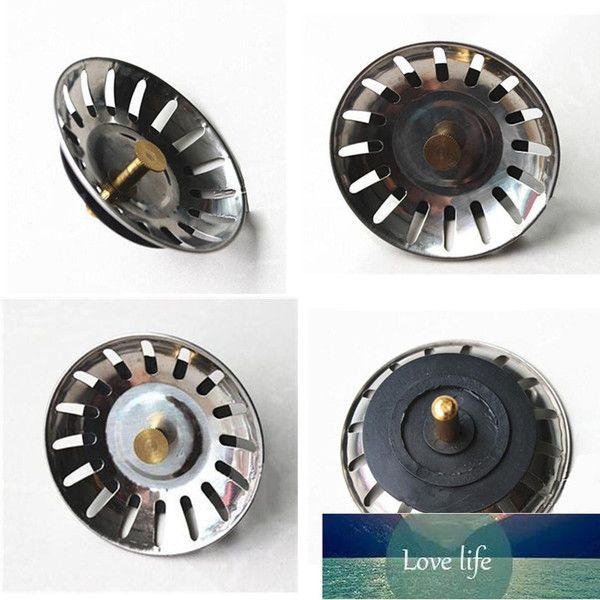 top popular 78mm Stainless Steel Kitchen Sink Lid Waste Disposer Strainer Stopper Leach Plug 1Pcs 2021