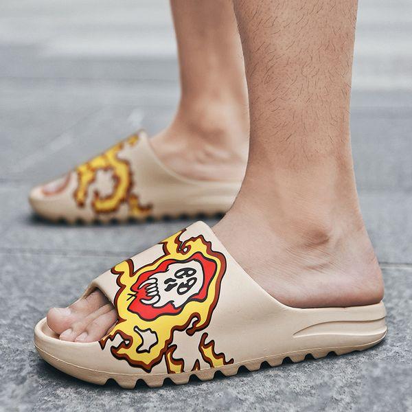 women Sandals Summer Soft bottom Sandals 2021 Unisex Slippers Light Beach Shoes Unisex Home Slippers Classic Slippers