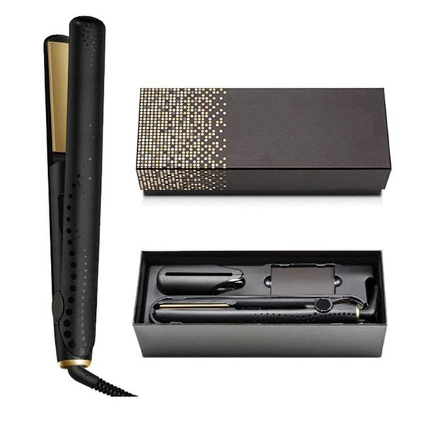 best selling In stock V Gold Max Hair Straightener Classic Professional styler Fast Straighteners Iron Styling tool