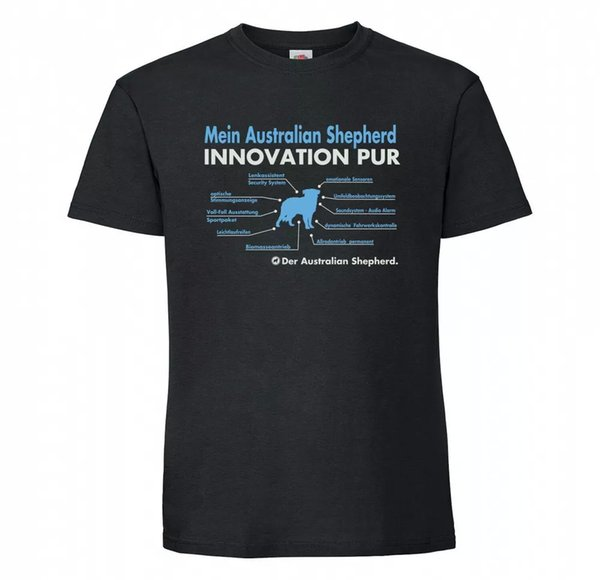 Australian Shepherd Unisex T-Shirt innovation Dog Motif Aussie SHEPHERD