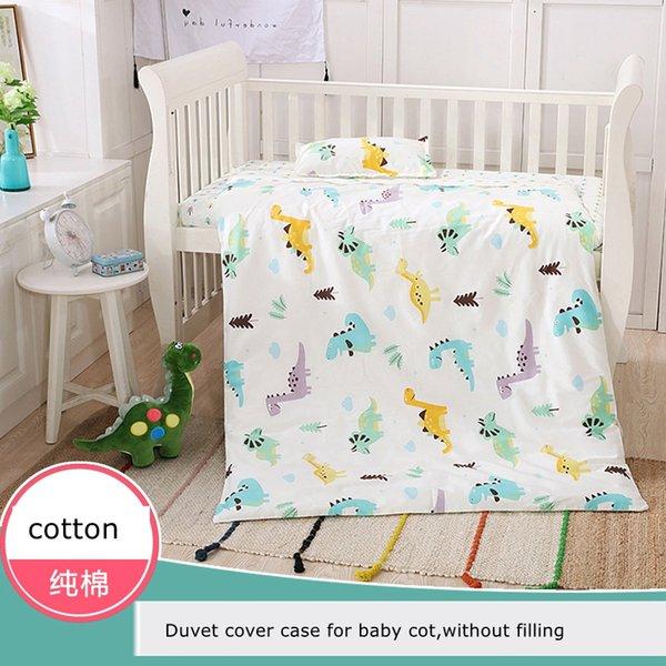 Fluorescent-free Quilt Cover Case For Crib Baby Duvet Cover Kindergarten Quilt Cover Parent-child Quilt Kids Beddings