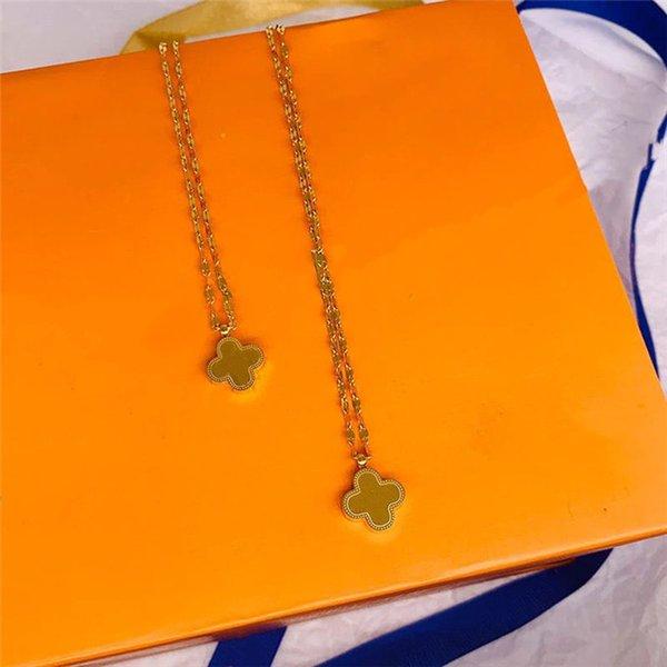 top popular Fashion Classic Necklace Street Brand Unisex Bracelet Designer Rings Circle Luxury Pendant Necklaces Man Woman 2021