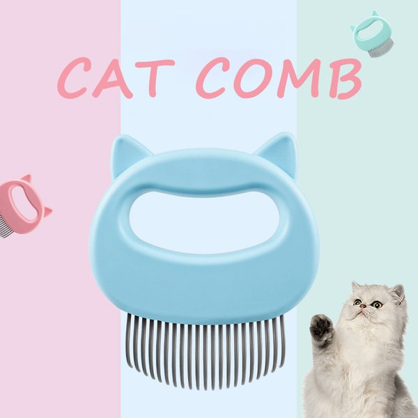 Pet Cat Grooming Massage Combs Hair Removal Shedding Cleaning Puppy Dogs Comb Shell Needle Brush Dog Hair Shaving Pet Supplies