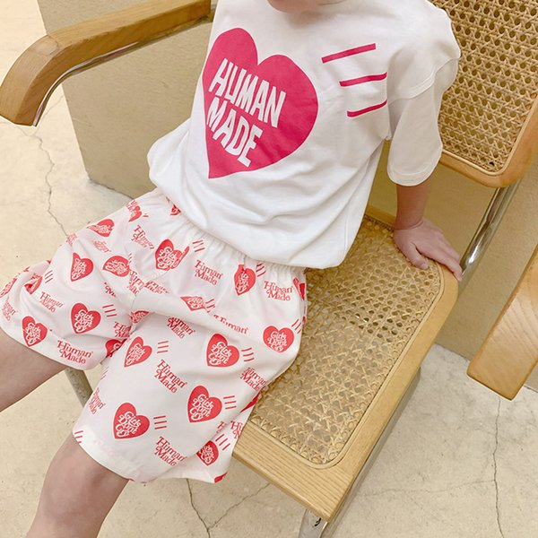 top popular 9.9 Second Kill Korean Loose Shorts Children's Summer Tide Beach Pants Will Not Be Returned or Replaced Without Quality Problems 2021