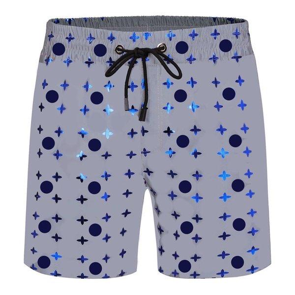top popular Summer Mens Shorts jogger 3D Inner liner mesh high quality Clothing Swim Seaside lady Fashion Shine Designer outdoor leisure sports womens Swimming beach Pants 2021