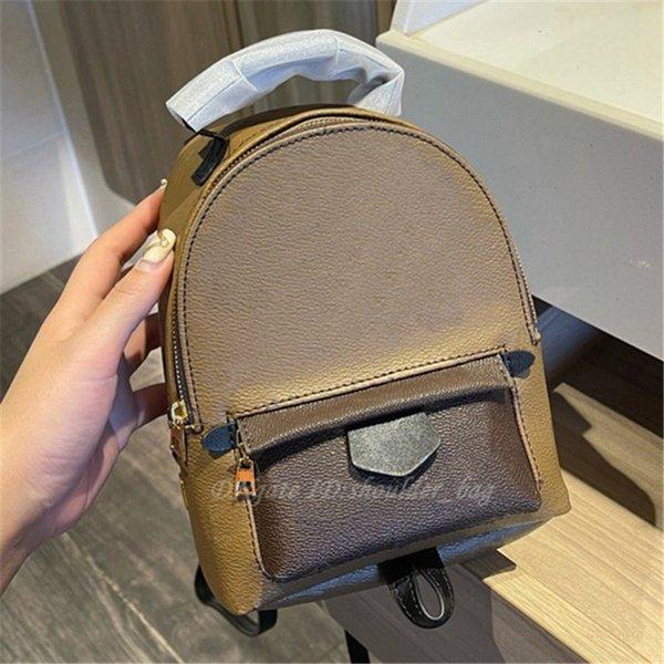 best selling 2021 Luxurys Designers Fashion Palm Springs Mini Backpacks Handbags Purse Metal Zipper Handbag Totes Crossbody Clutch Mommy Bags Backpack Style Women Shoulder Bag
