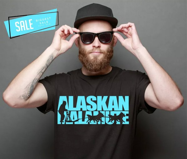 SALE ALASKAN MALAMUTE SLED DOG SLED DOG DOGS shirt Unisex T-Shirt XXL